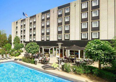Novotel Hotel Maastricht - Rear side hotel