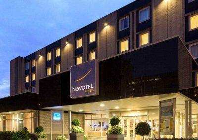 Novotel Hotel Maastricht - Hotel voorkant avond