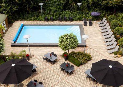 Novotel Hotel Maastricht Zwembad bovenkant