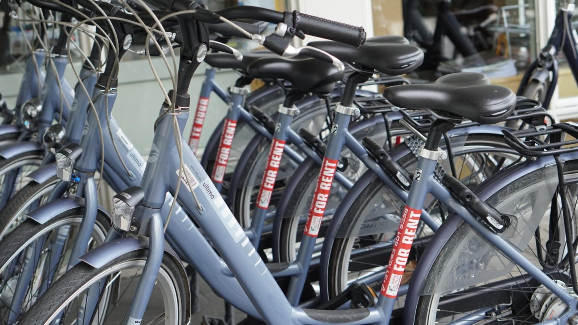 Bike routes in Maastricht