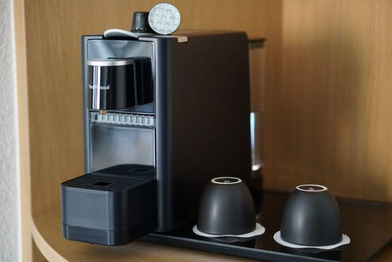 Coffee machine Novotel Maastricht